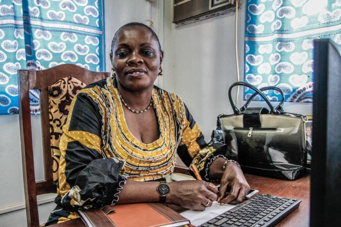 Sylvie Panika, Directrice de Radio Ndeke Luka