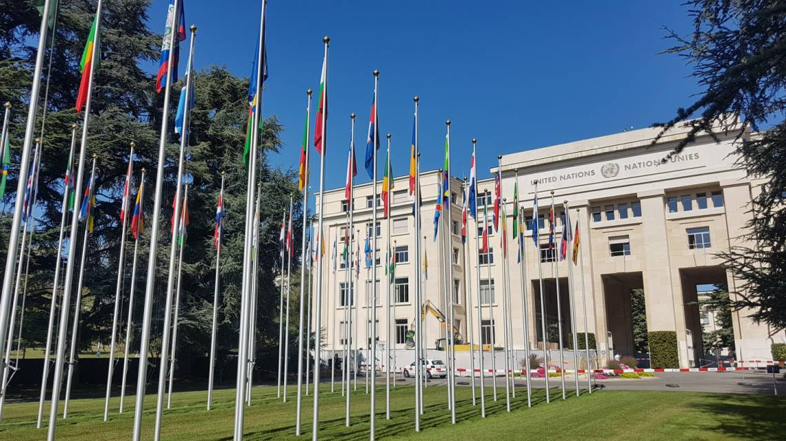 Palais des Nations in Geneva