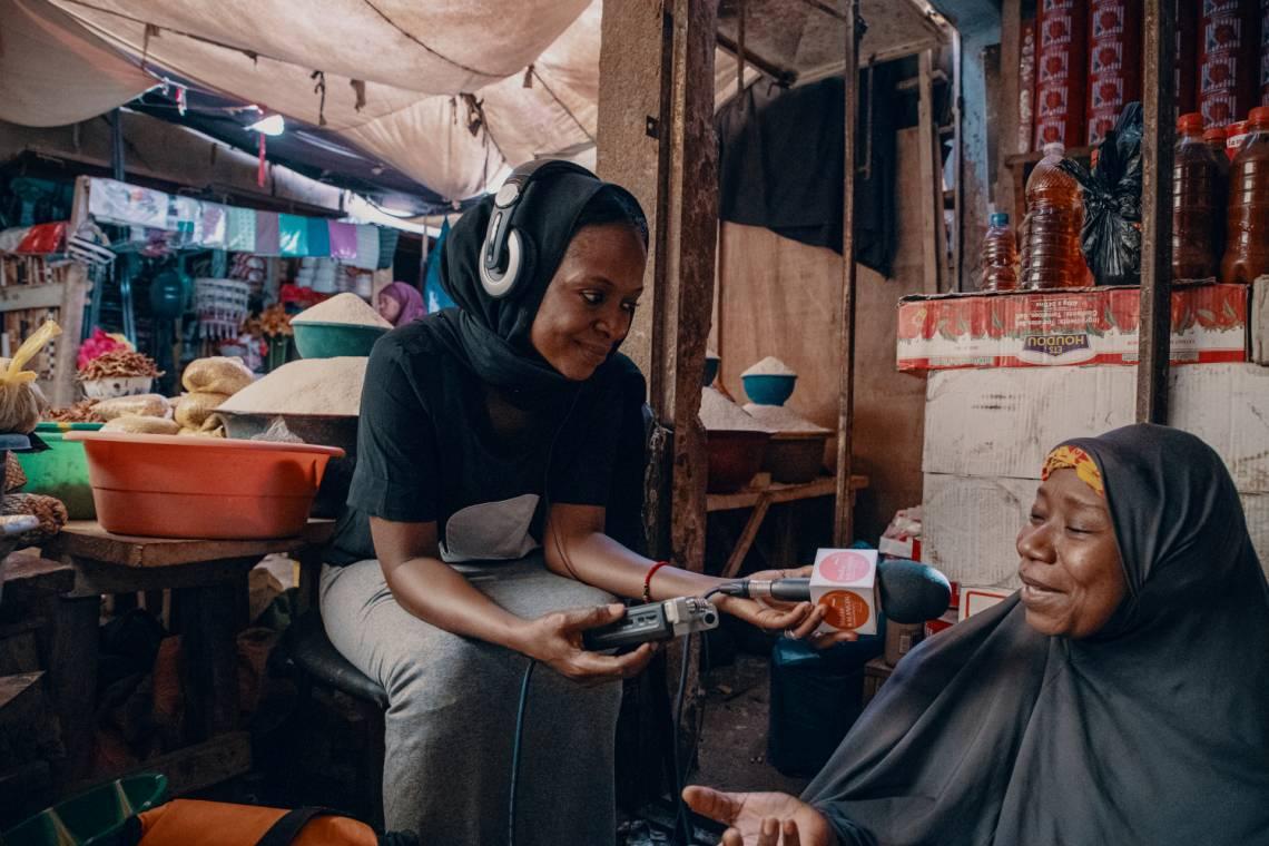 Témoignage de femme recueilli par une journaliste du Studio Kalangou