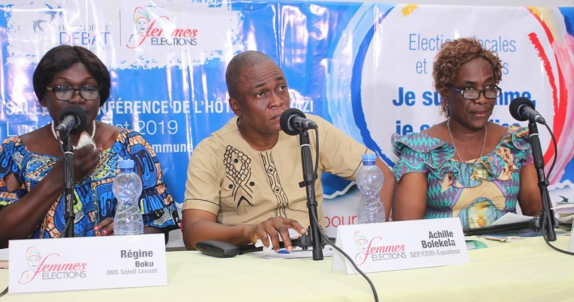 """Les trois grands témoins du débat """"Femmes et élections"""""""