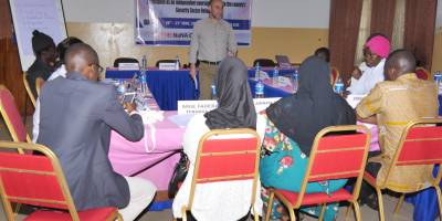 Gambia : our journalists training on the Security Sector Reform