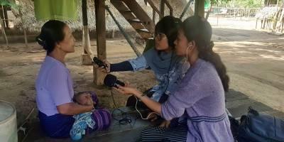 Droits Humains au Myanmar : notre formation de journalistes dans l'Etat Môn