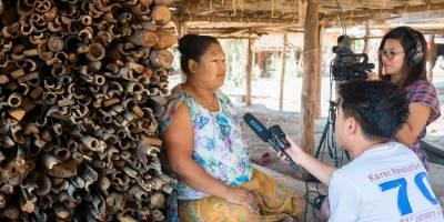 Ein Podcast, der allen Gemeinschaften in Myanmar eine Stimme gibt