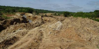 In the Central African Republic, the environment is threatened by Chinese mining operations