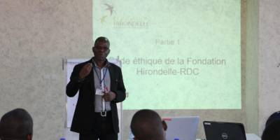 Journalism in conflict situations: our training in Kinshasa