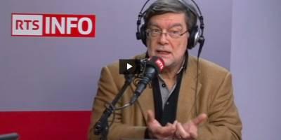 Jean-Marie Etter, l'invité de la rédaction à la RTS le 23 décembre 2016