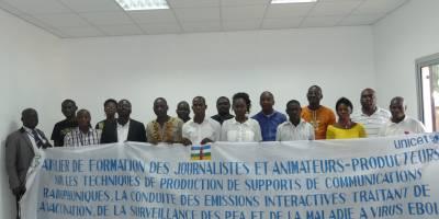 Ebola and Polio viruses prevention in CAR: Radio Ndeke Luka and UNICEF train community radios