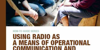 Our guide to radio communication in a humanitarian context with the ICRC