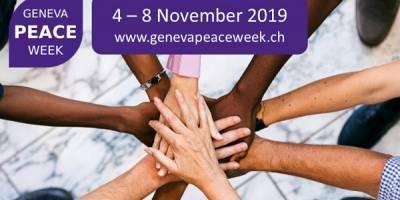 Programme de la Geneva Peace Week 2019: femmes et médias au cœur de notre panel