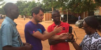 Coverage of climate change: journalists trained in Niamey