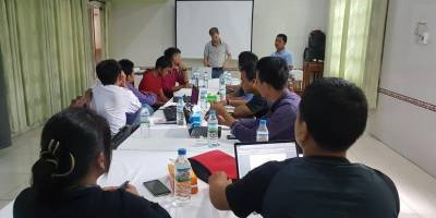 Our training on journalism and Human Rights in Chin State, Myanmar