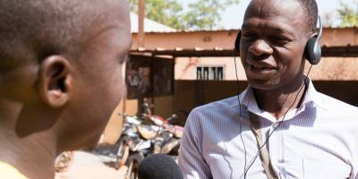 Our partnership with Interpeace for dialogue in Burkina Faso