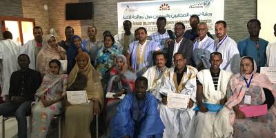 Journalism to defuse rumours: our training in Mauritania