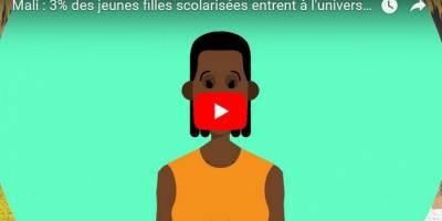 Studio Tamani produit une vidéo animée sur la scolarisation des jeunes filles au Mali