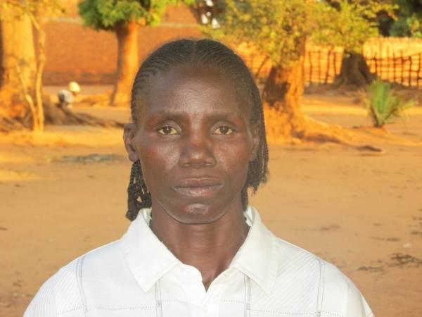 Martine Bangue, 34 ans, vit à Bria dans le centre de la République Centrafricaine.