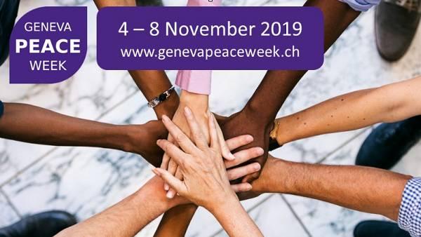 Lancement du programme de l'édition 2019 de la Geneva Peace Week.